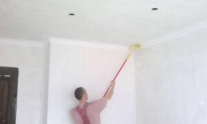 Нужно ли грунтовать перед побелкой стены или потолок?