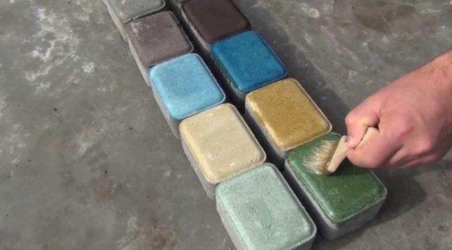 Лакирование плитки